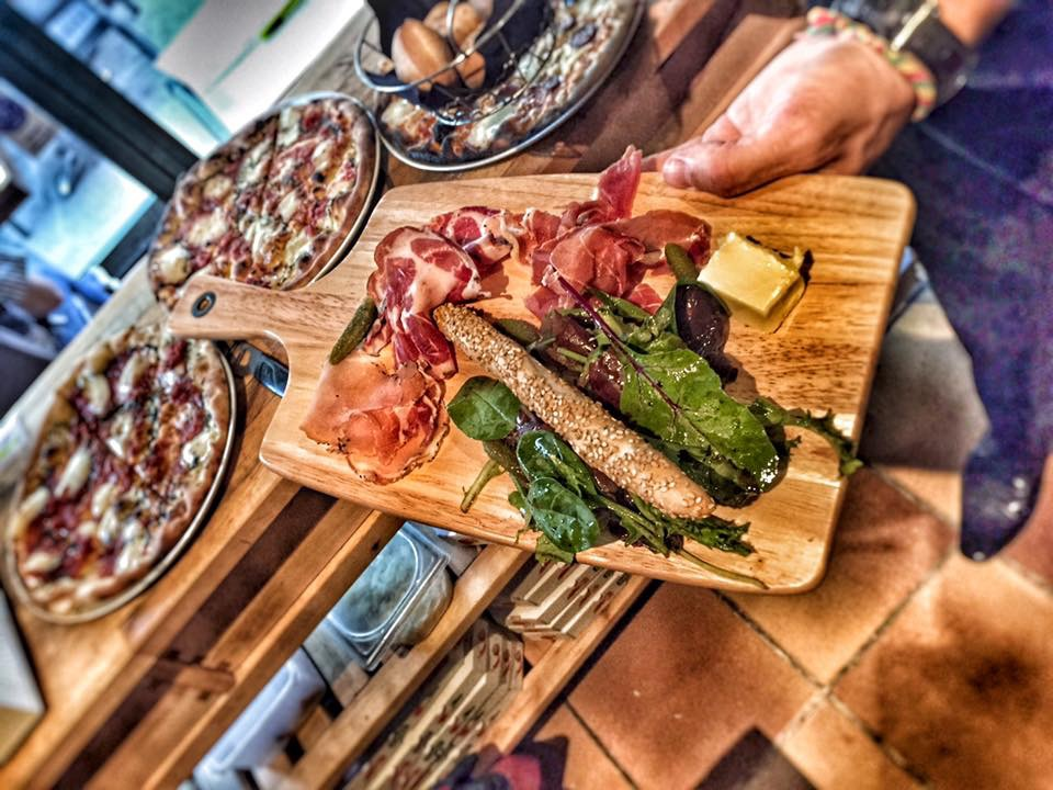 assiette charcuterie italienne - La Saga